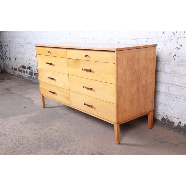 Paul McCobb Perimeter Group Mid-Century Modern Eight-Drawer Dresser or Credenza, 1950s For Sale - Image 12 of 12
