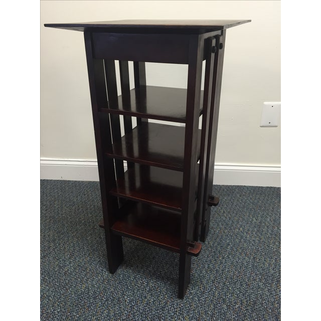 Michigan Chair Company Magazine Stand Side Table - Image 9 of 9