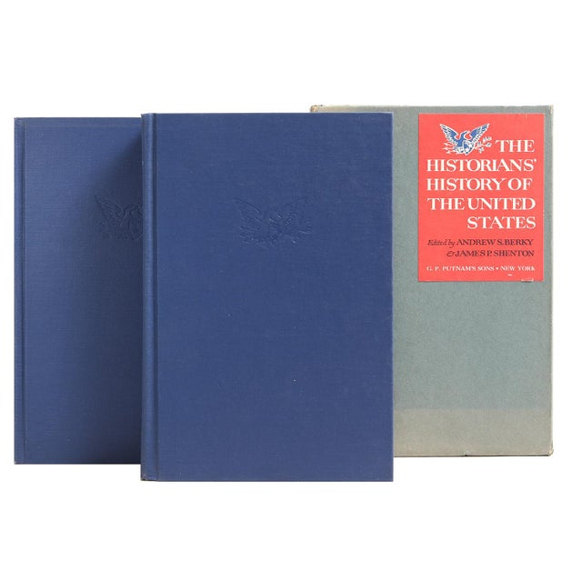 Historians' History of the U. S., Pair by James P. Shenton, Andrew S. Berky. New York: G. P. Putnam's Sons, 1966. Two-...