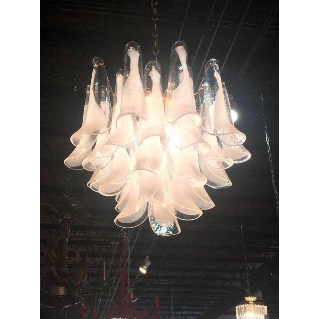 4 tier murano mazzega glass tulip petal chandelier chairish 4 tier murano mazzega glass tulip petal chandelier image 2 of 12 aloadofball Images