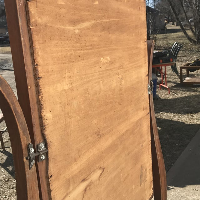 Antique Wash Stand W/ Mirror For Sale In Wichita - Image 6 of 10