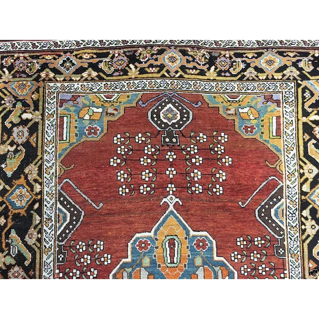 "Antique Caucasian Karabagh Rug - 4'8"" x 7'2"" - Image 4 of 5"