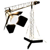 "Image of Curtis Jere ""Crane"" Table Lamp For Sale"