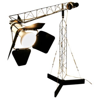 """Curtis Jere """"Crane"""" Table Lamp For Sale"""