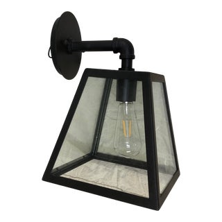 Amherst River Valley Rust Outdoor Wall Light by Troy Lighting For Sale