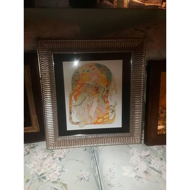 Early 20th Century Gustav Klimt Watercolor Painting - Accompanying Certificate For Sale - Image 5 of 7