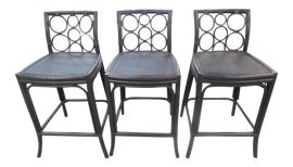 Image of Bar Stools with Backs