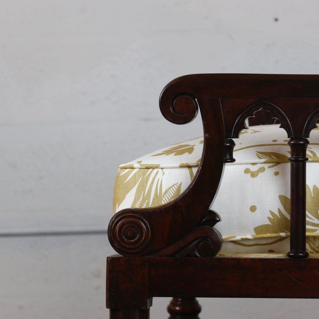 Pair of 19th Century Jacobean Gothic Armchairs For Sale In West Palm - Image 6 of 7