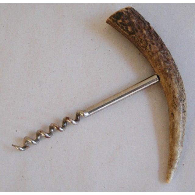 German 1950s Horn/Hoof Bar Accessories - Pair - Image 5 of 5