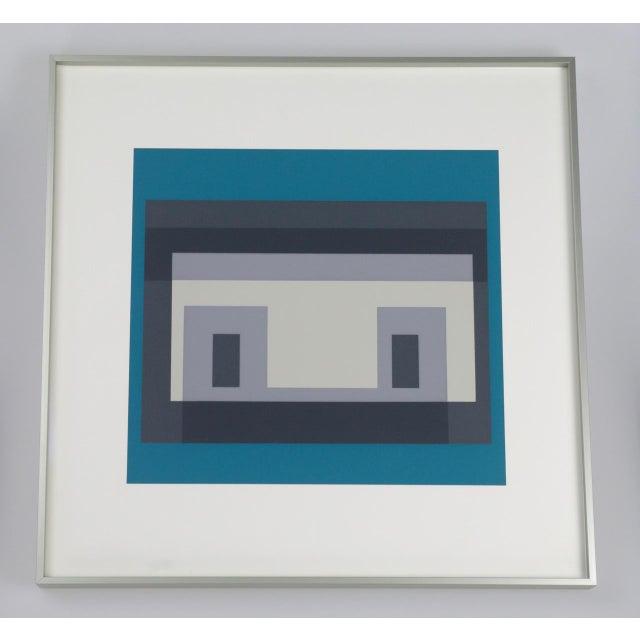 Josef Albers Variant III Screenprint - Image 2 of 4