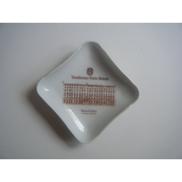 Vintage London Hotel Porcelain Trinket or Ash Tray - Image 2 of 4