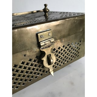 Antique Brass Jewelry Box Preview