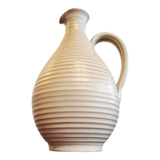 Fritz Van Daalen Studio Pottery Ewer Vase For Sale