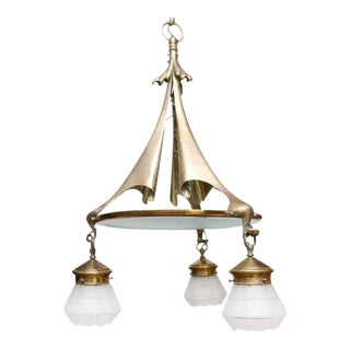 William Benson Chandelier For Sale