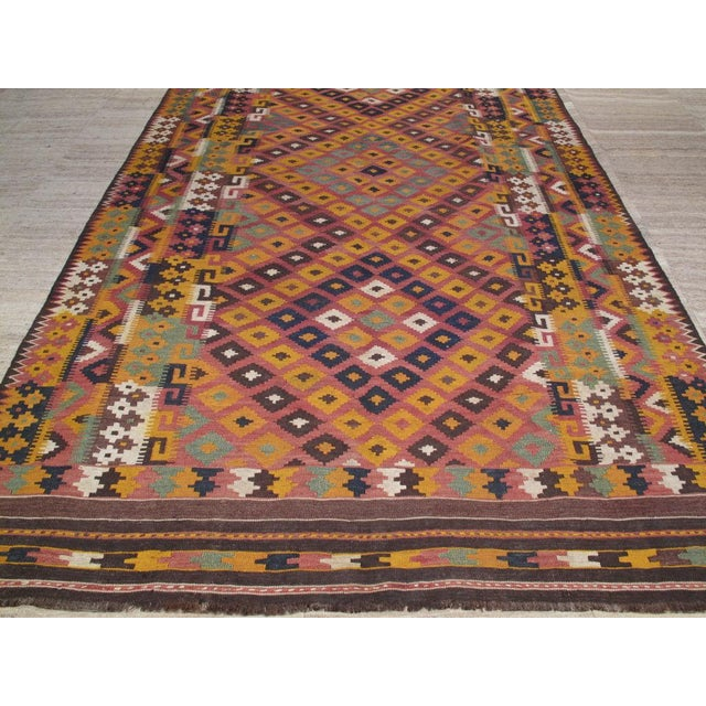 Islamic Uzbek Kilim For Sale - Image 3 of 5