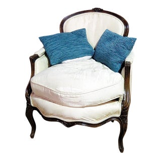 Louis XV Style Bergere Chair For Sale