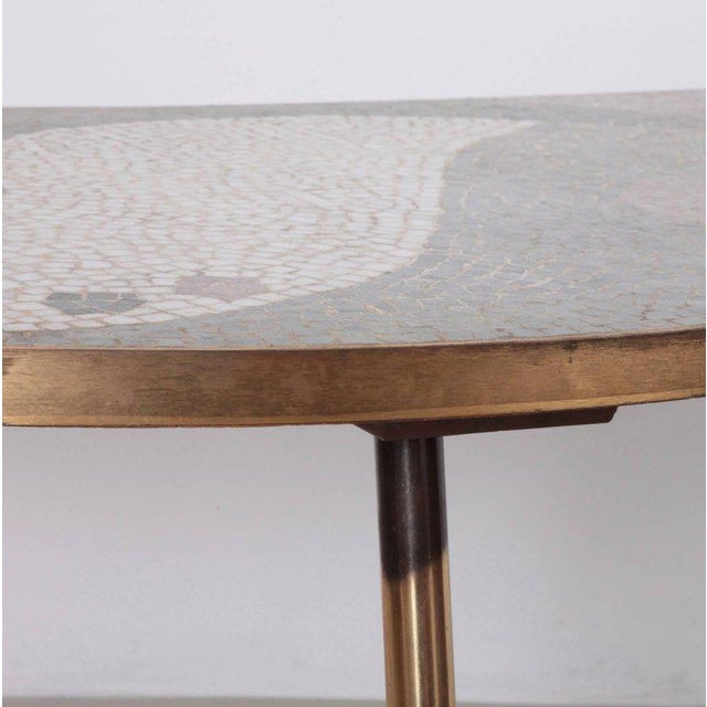 Berthold Muller Huge Berthold Muller Mosaic Coffee Table For Sale - Image 4 of 8