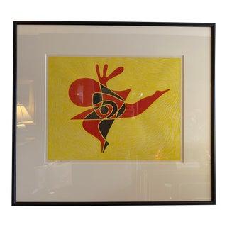 "Takumi Shinagawa ""Dance Song"" No. 8, Signed Abstract Painting For Sale"