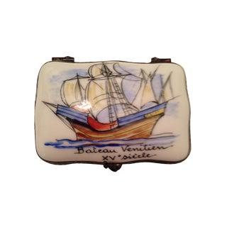 Vintage French Porcelain Box