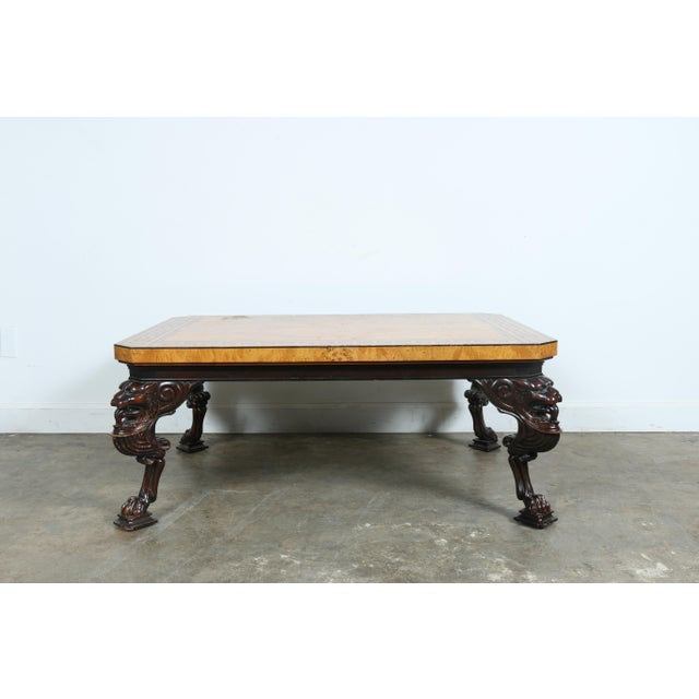 Baker Burlwood Coffee Table - Image 2 of 11