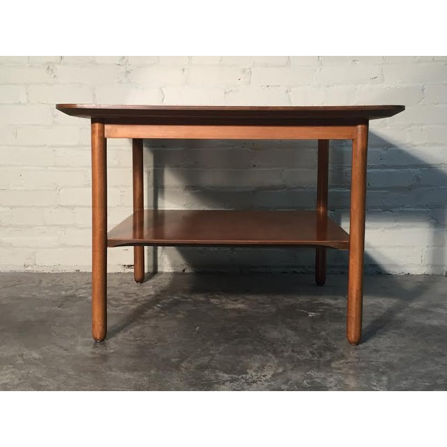 Mid-Century Modern Corner End Table - Image 7 of 10