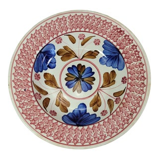 Late 19th Century Imperiale Royale Nimy Belgium Stick Spatter Bowl For Sale