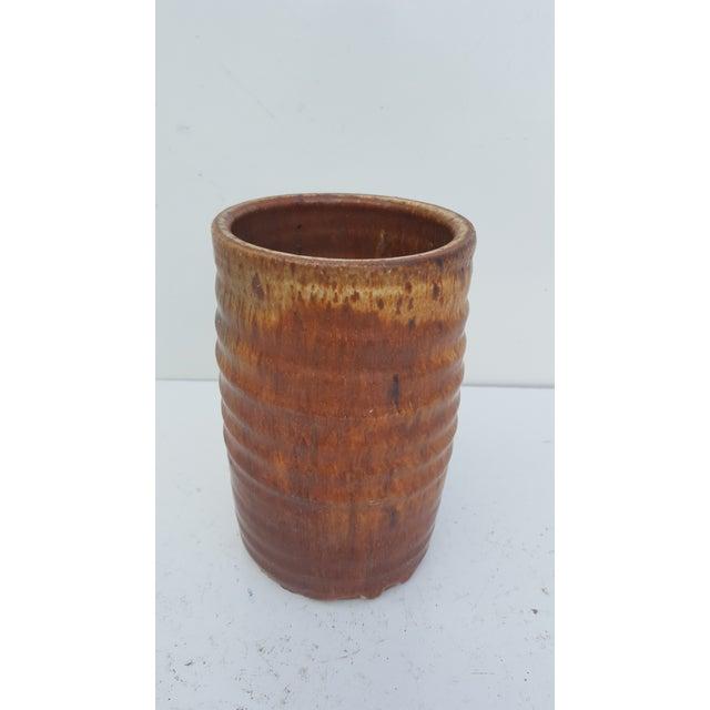 Mid-Century Modern Vamilen Vintage Studio Pottery Vase For Sale - Image 3 of 8