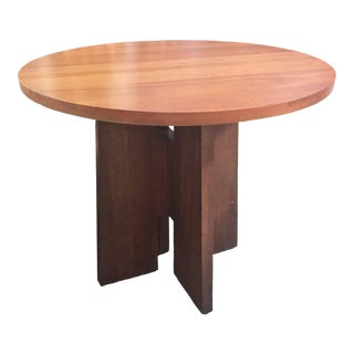 Contemporary Style Wooden Pub Table For Sale