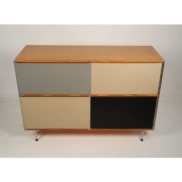 1950s Early ESU 200 Storage Unit by Charles & Ray Eames for Herman MIller For Sale - Image 5 of 11