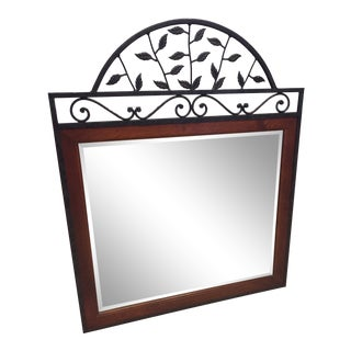 Bob Timberlake Iron & Wood Mirror