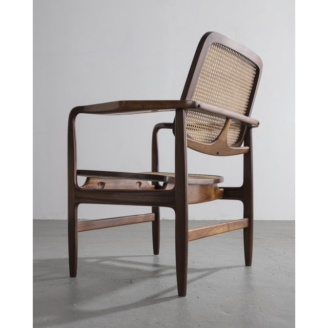 "Sergio Rodrigues ""Poltrona Oscar"" chair by Sergio Rodrigues, Brazil, 1958. For Sale - Image 4 of 9"
