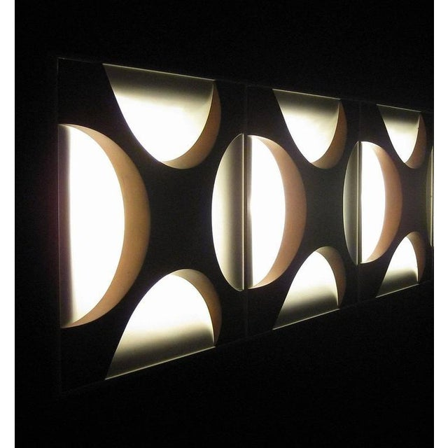 - Ceiling or wall light (Model Oyster) - Design by Rolf Krüger & Dieter Witte for Staff, circa 1968 - Construction made of...