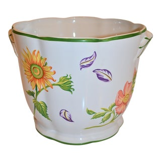 "Vintage Tiffany & Company ""Petals"" Cachepot For Sale"