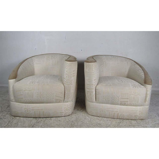 Pair of Vintage Corkscrew Lounge Chairs For Sale - Image 10 of 10