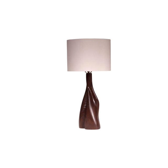 Nectar Table Lamp - Dark Brown For Sale In Los Angeles - Image 6 of 8