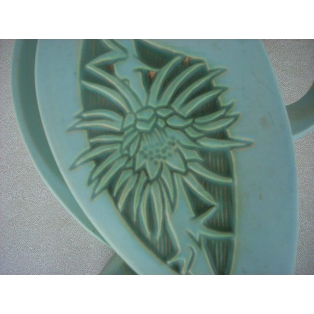 Roseville Silhouette Basket Vase - Image 3 of 4