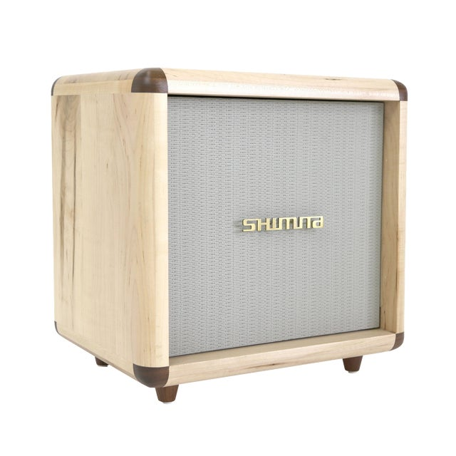 Shimna Stacks Maple Nightstand Cabinet For Sale