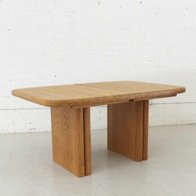 Sienna Solid Oak Boho Restored Dining Table For Sale - Image 8 of 8