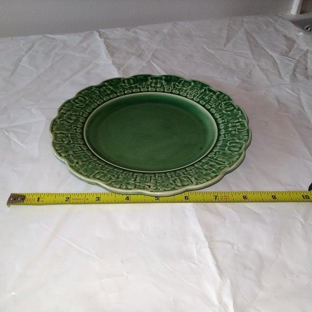 Farmhouse 20th Century Cottage Portuguese Ceramic Plate For Sale - Image 3 of 6