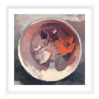 "Medium ""Flower Bowl"" Print by Caitlin Winner, 28"" X 28"" For Sale"