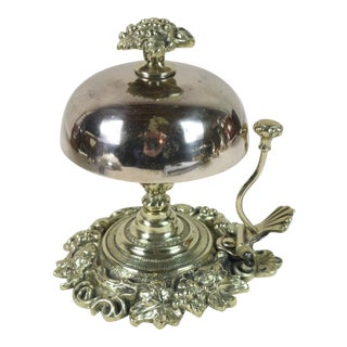 Mid 19th Century English Victorian Desk Bell For Sale