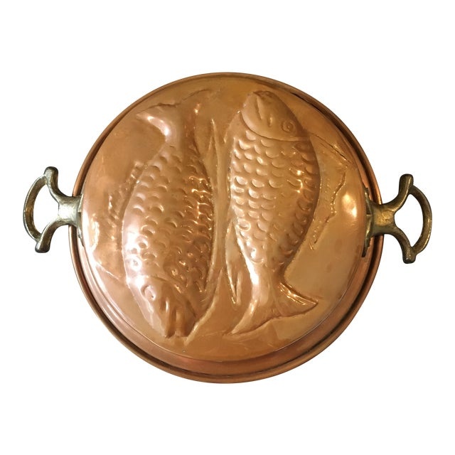 Vintage Copper Pisces Mold - Image 1 of 7