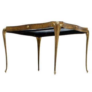 Side Table With Thin Legs Attributed to Arturo Pani For Sale