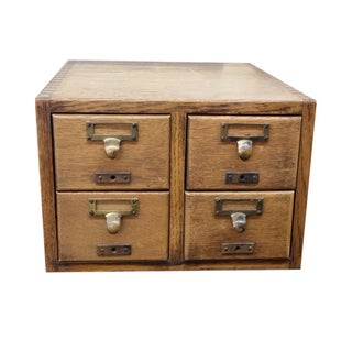 Antique File Cabinet
