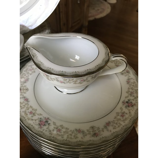 Cottage Vintage Noritake # 5807 Edgewood Service for 12 Dinnerware - 94 Pieces,reduced Final For Sale - Image 3 of 12