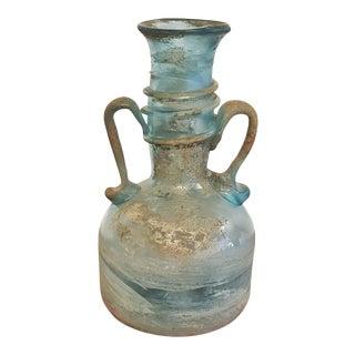 1960s Vintage Seguso Roman Amphora Style Scavo Vase For Sale