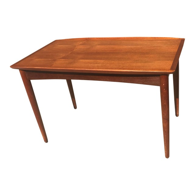 Small Teak Side Table.1960s Danish Modern Small Teak Side Table Chairish