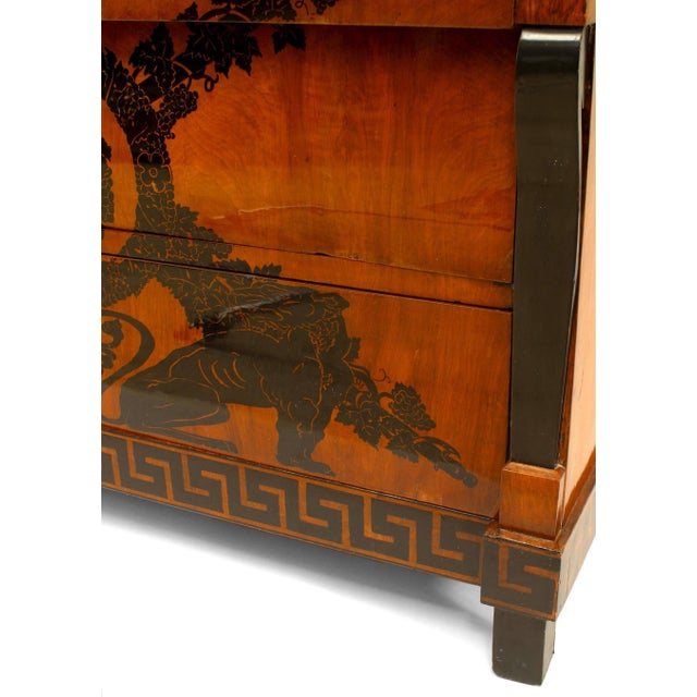 Early 19th Century Italian Neoclassical Penwork Chest For Sale - Image 9 of 10