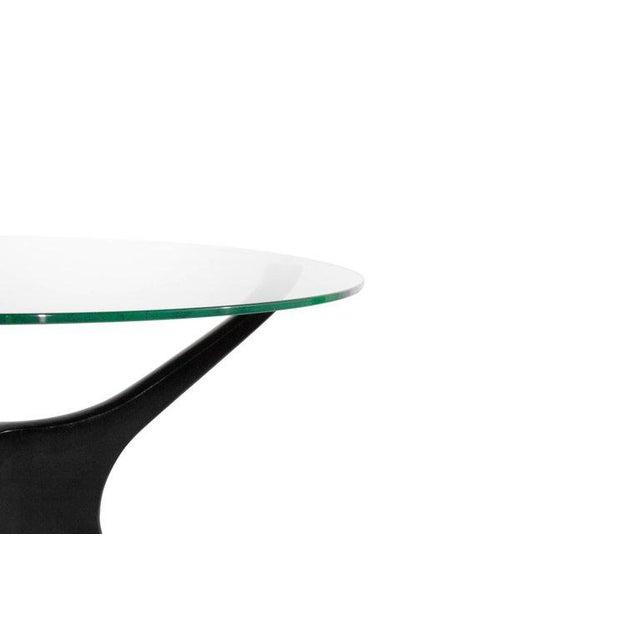 Transparent 1950s Vladimir Kagan Walnut Trisymmetric End Tables - a Pair For Sale - Image 8 of 10