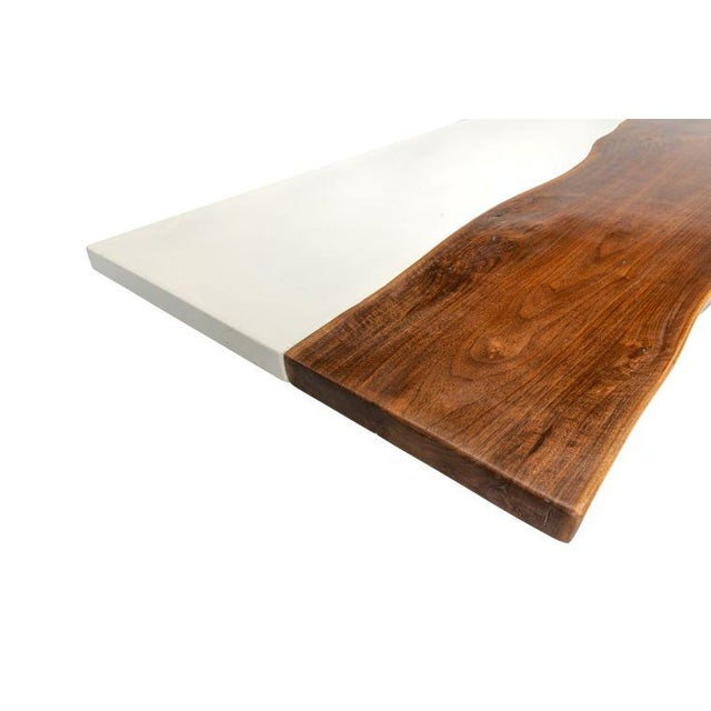 Contemporary Organic Modern Live Edge Coffee Table For Sale - Image 3 of 5